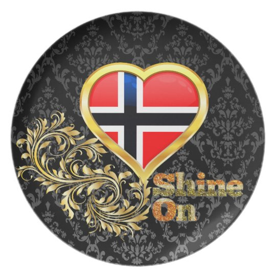 Shine On Norway Plate