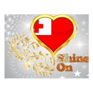 Shine On Tonga Postcard