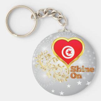 Shine On Tunisia Keychain