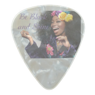 Shine Pearl Celluloid Guitar Pick