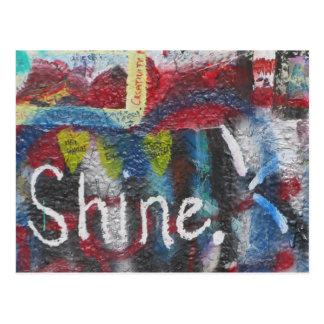 Shine Postcard