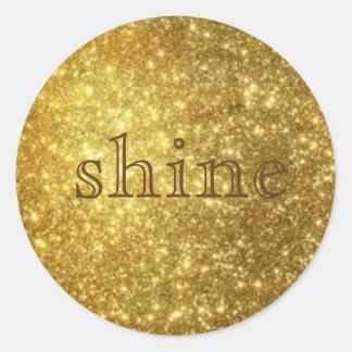 shine sticker