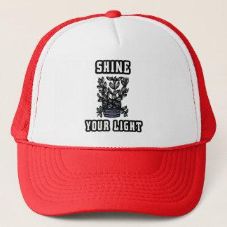 """""""Shine Your Light"""" Trucker Hat"""