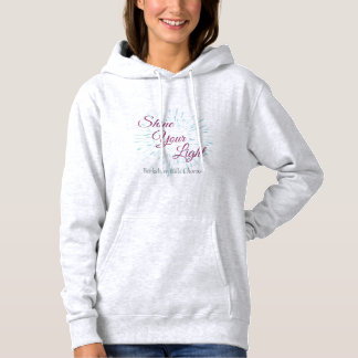 Shine Your Light Women's Hooded Sweatshirt