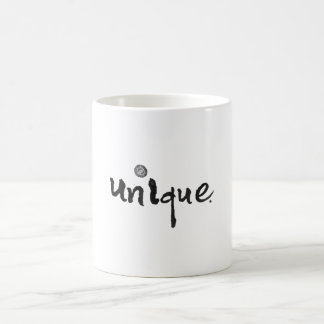 Shine your uniqueness coffee mug