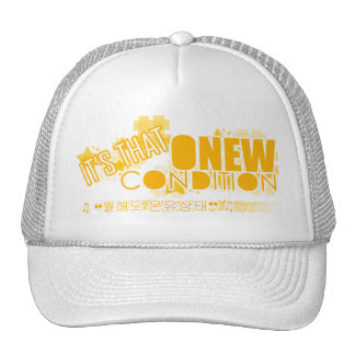 SHINEE HAT: onew condition Trucker Hat