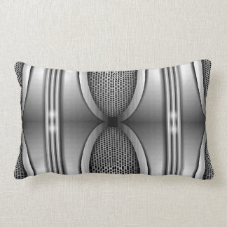 SHINEY SILVER SPEAKERS LUMBAR PILLOW