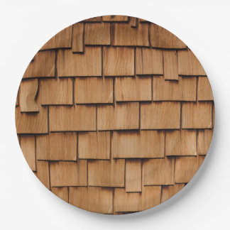 SHINGLE WALL PAPER PLATE