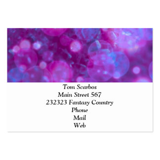 shining and shimmering blue pink business card templates