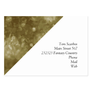 shining and shimmering moss business cards