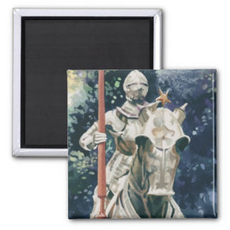 """Shining Armor"" Knight Watercolor Magnet"