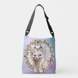 Shining Desert Fox Crossbody Bag
