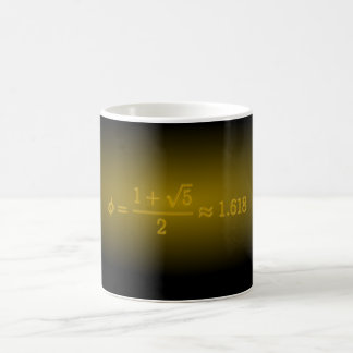 Shining Golden Ratio Coffee Mug