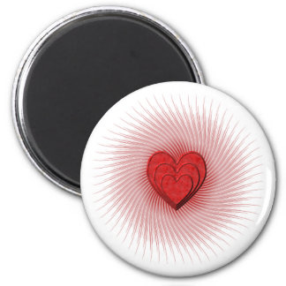 Shining Heart Magnet