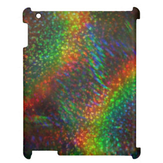 Shining Lights Holographic Glitter Rainbows iPad Covers