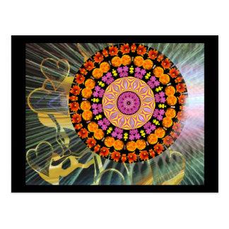 Shining Mandala Postcard
