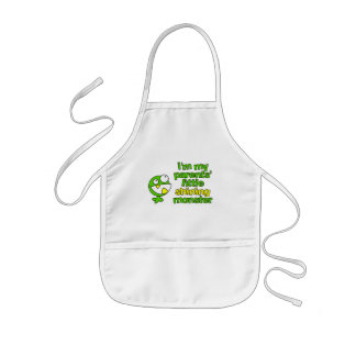 Shining Monster apron