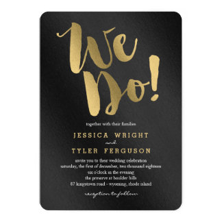 Shining Promise Wedding Invitations