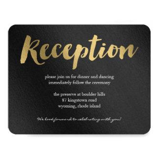 "Shining Promise Wedding Reception Card 4.25"" X 5.5"" Invitation Card"