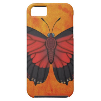 Shining Red Charaxes Butterfly iPhone 5 Case