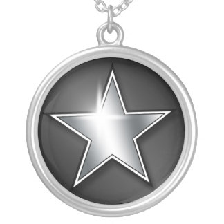 Shining Silver Star ~ Sterling Silver Necklace