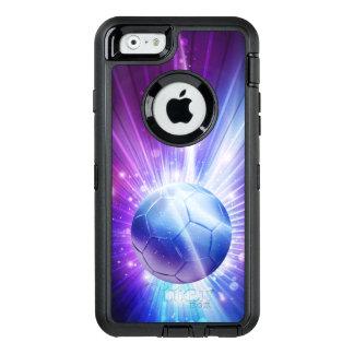Shining Soccer Ball Football OtterBox Defender iPhone Case