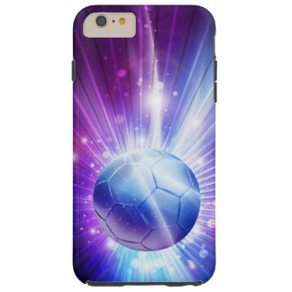 Shining Soccer Ball Football Tough iPhone 6 Plus Case