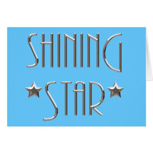Shining Star Card