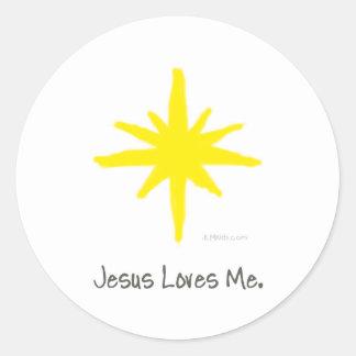 Shining Star Classic Round Sticker