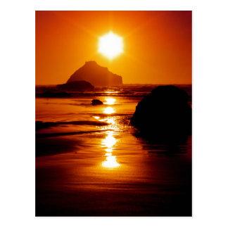 Shining Star - Face Rock, Bandon, Oregon Postcard