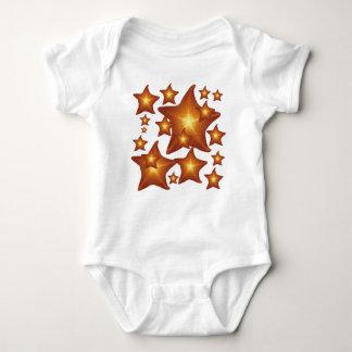 Shining Star - graphic design Baby Bodysuit