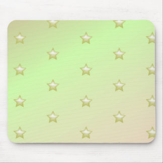 Shining star pattern mouse pad