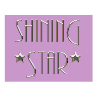 Shining Star Postcard