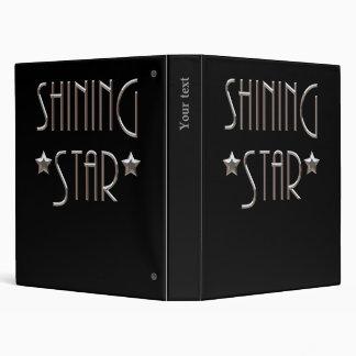 Shining Star Vinyl Binder