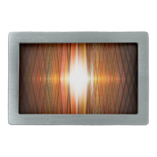 Shining starburst grid belt buckle