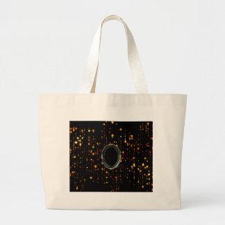 shining stars large tote bag