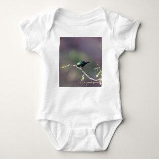 Shining Sunbird (Cinnyris habessinicus) Baby Bodysuit