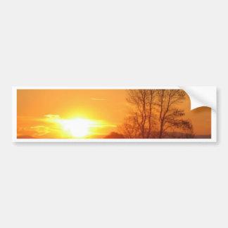 Shining Sunset Bumper Stickers