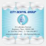 Shining Teeth Dentist Sticker