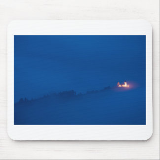 Shining through the storm clouds mouse pad
