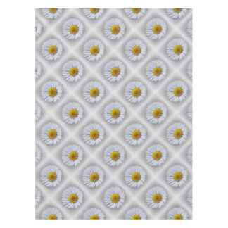 shining white daisy tablecloth