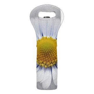 shining white daisy wine bag