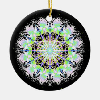 Shining with Passionate Co-Creation Ceramic Ornament