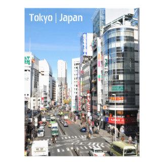 Shinjuku district in Tokyo, Japan Letterhead