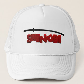 Shinobi Black Trucker Hat