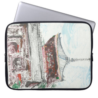 Shintennouji Temple Japan Computer Laptop Sleeve