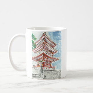 Shintennouji Temple Kyoto Japan Coffee Mug