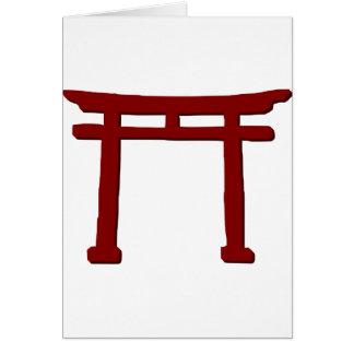 Shinto Gate Card
