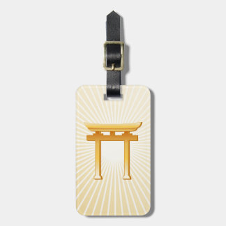 Shinto Symbol Luggage Tag