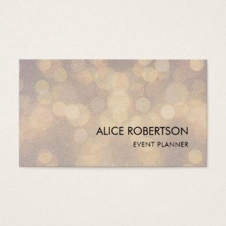Shiny blurred design business card